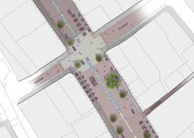 150225 DO herinrichting Rijnstraat Woerden - plattegrond A0-lig kleur COPY TOEKOMST BEELD RGB - UITSNEDE 1