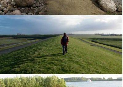 3 landschappen als richting
