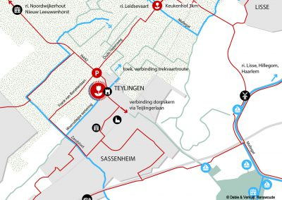 20161031 Stedenbouwkundige analyse Sassenheim - Zichtrelaties