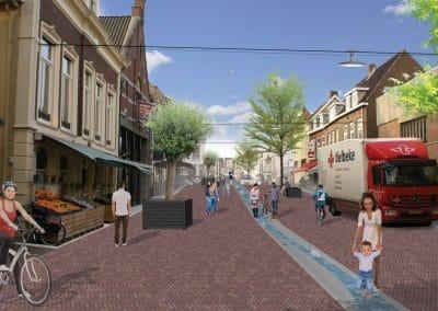 Rijnstraat - visualisatie nieuwe situatie DSC00577 COPY RGB - VARIANT 1