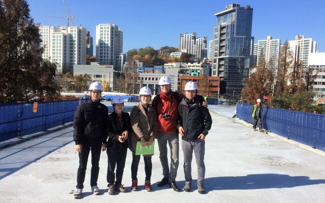 Realisatie Skypark Seoul vordert gestaag