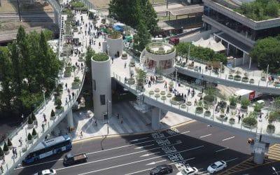 Skygarden Seoullo geopend en direct groot succes