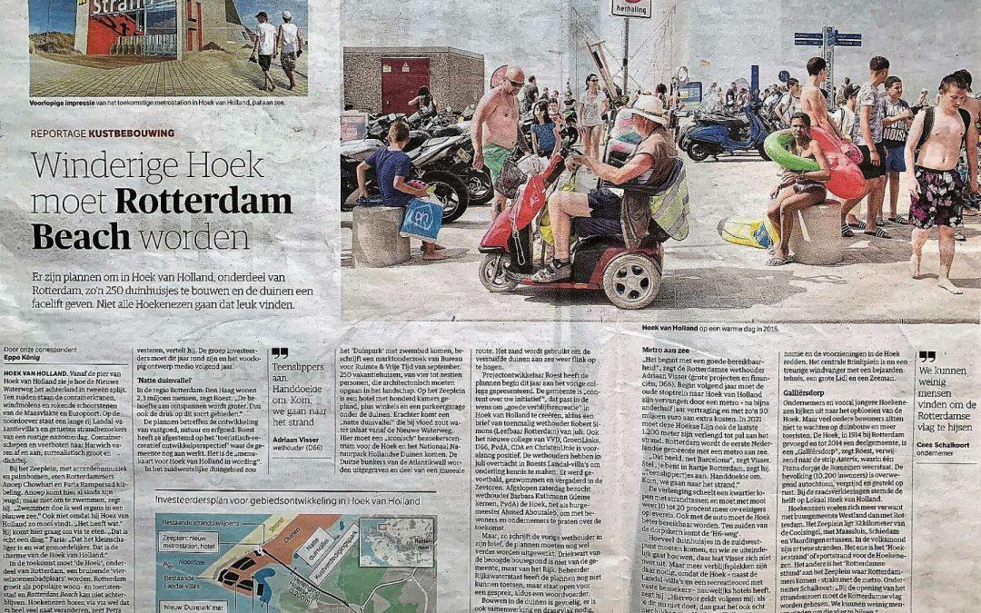 Hoek van Holland krijgt een Duinpark